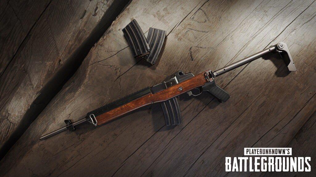 「PUBG」新武器『Mini-14』が次回アップデートで追加予定!アップデート内容と詳細まとめ