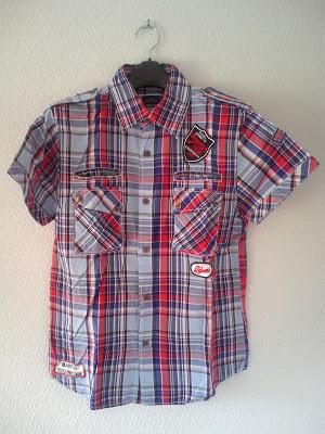 ハウスオブブルーのチェックのシャツ