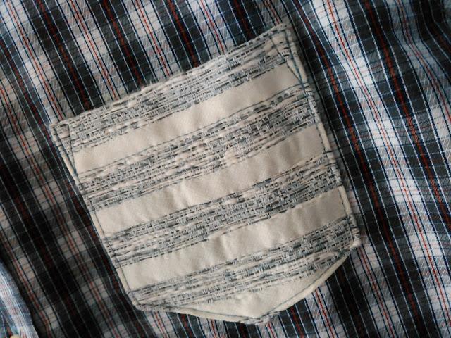 クロロシスターのシャツ(胸ポケット)