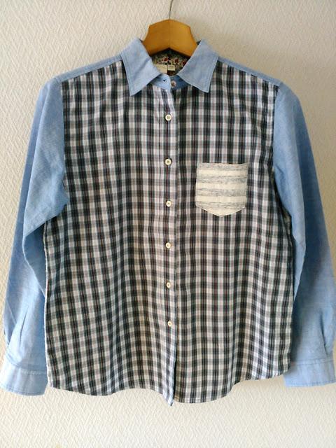 クロロシスターのシャツ(正面)