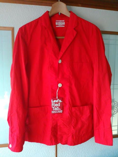 リーバイス、キムタクがCMで着てた赤いジャケット