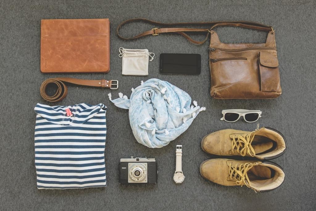 ちょっとした旅行にいくための服や道具一覧