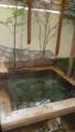 部屋付きの露天風呂@なな川