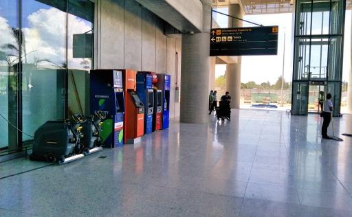 セブ空港国際線ATM