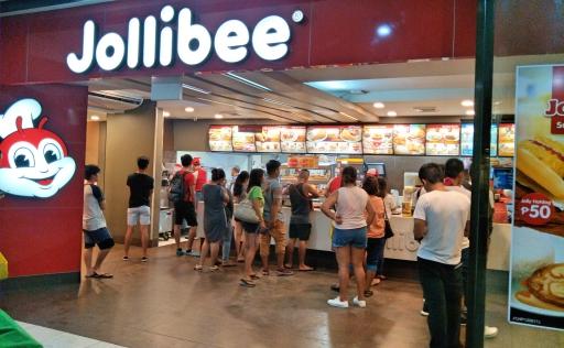 フィリピンの国民食Jollibee