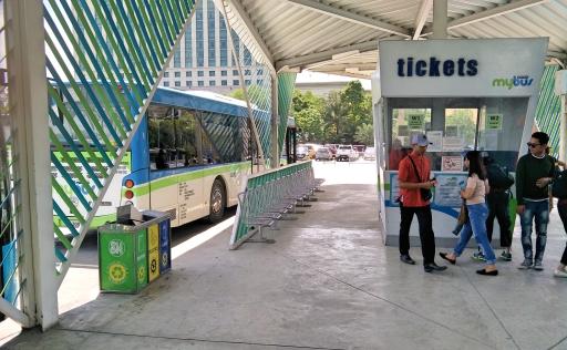 SMモールバス乗り場