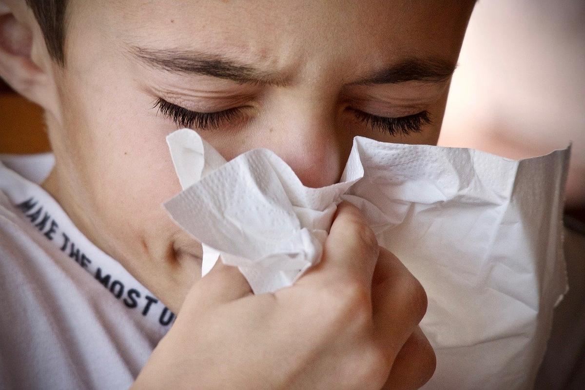 花粉症、くしゃみ、鼻水