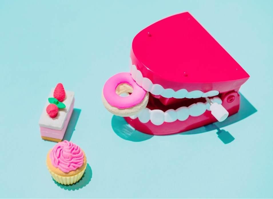 歯のおもちゃの写真
