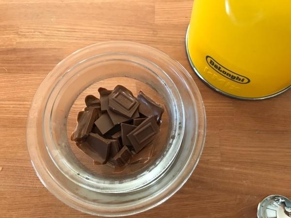 湯せんチョコレート