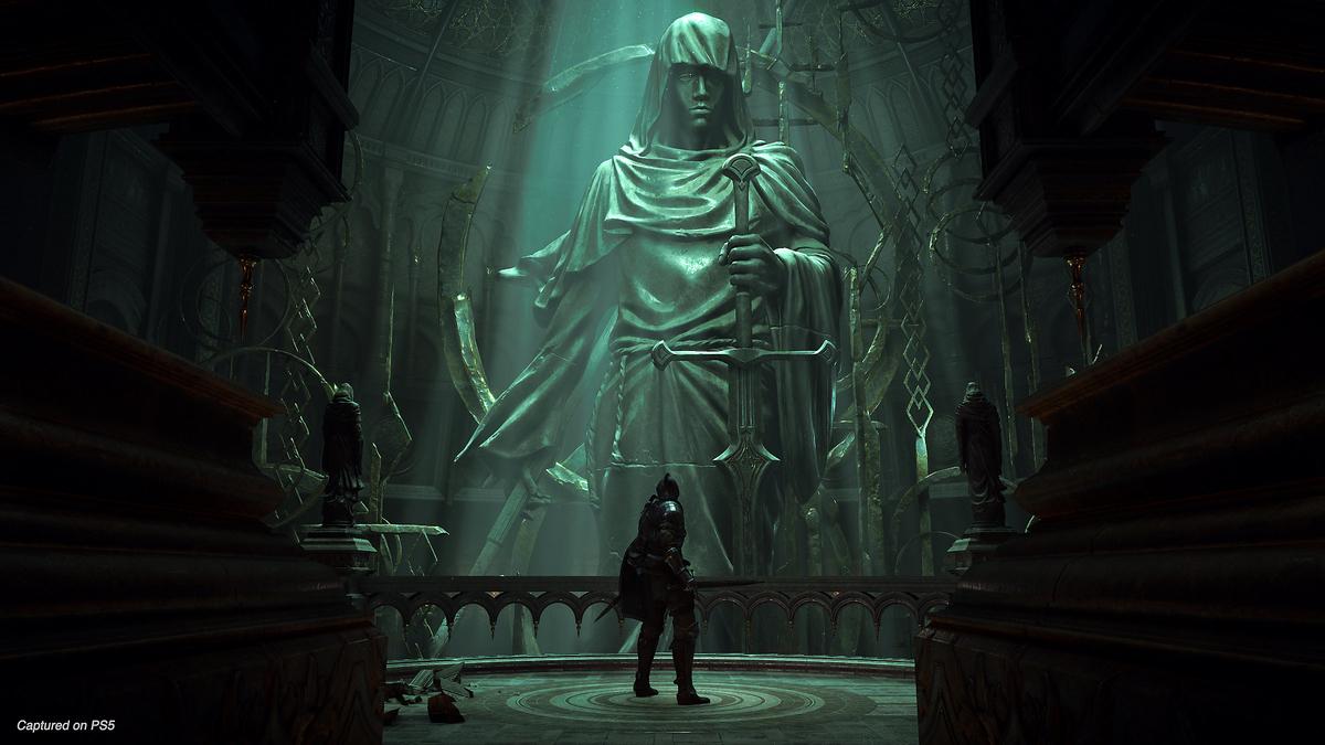 Demon's Soulsのプレイ画面の画像