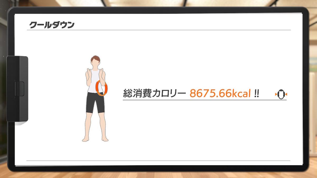 消費カロリーは8675.66kcalの画像