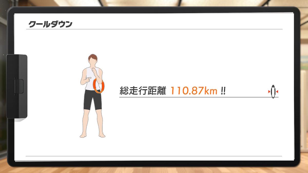 走行距離110.87kmの画像