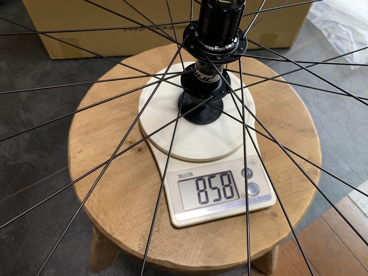 Prime Race Disk リアホイール重量