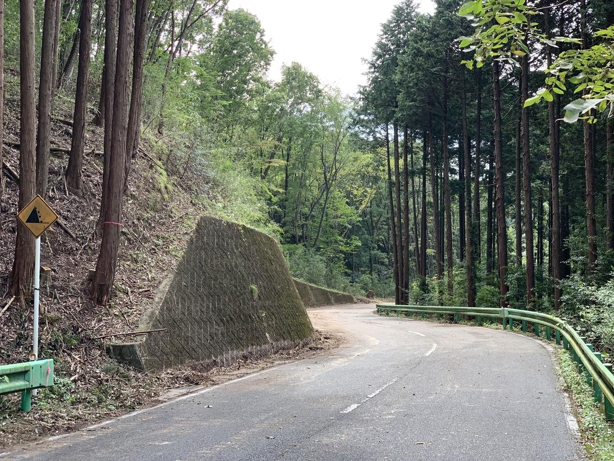 ロードレース・ジャパン・カップ古賀志林道の伐採作業