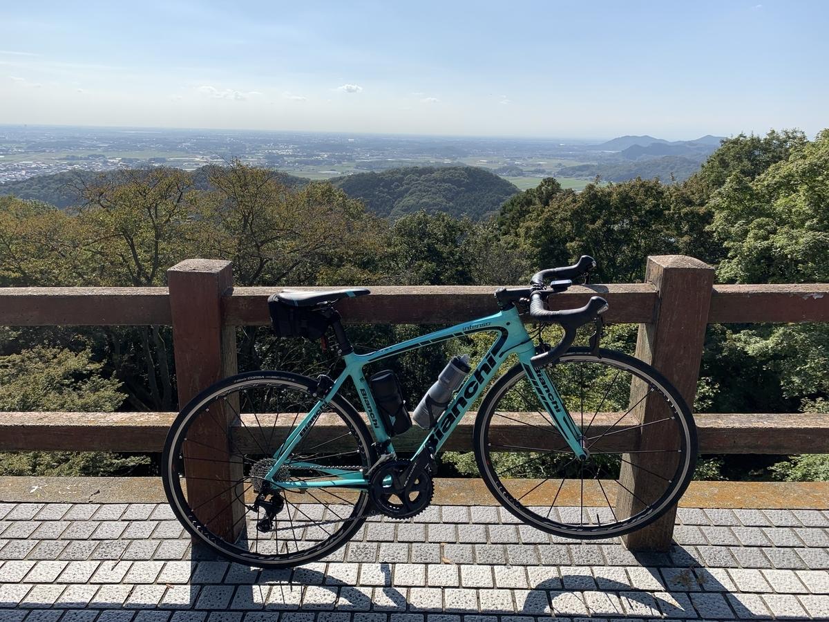 栃木市太平山 謙信平から眺める陸の松島