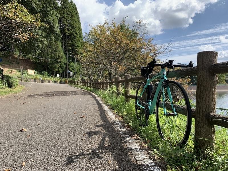 秋の気配を感じる宇都宮森林公園赤川ダム湖畔 Japan Cup Sycle Road Raceの会場
