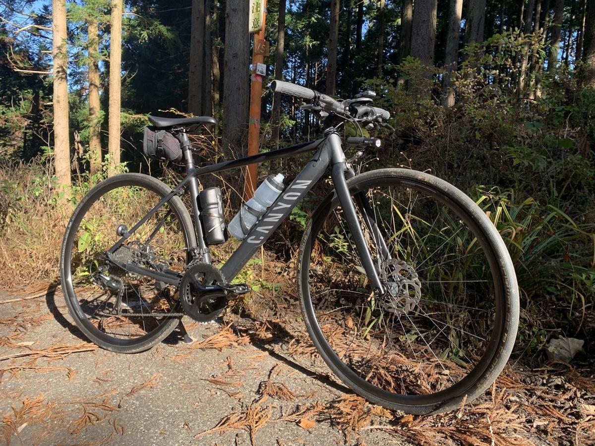 CANYONのクロスバイクで里山の林道を巡る