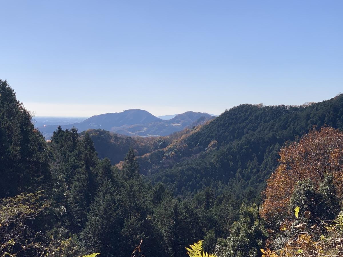 里山のグラベルから見渡す景色