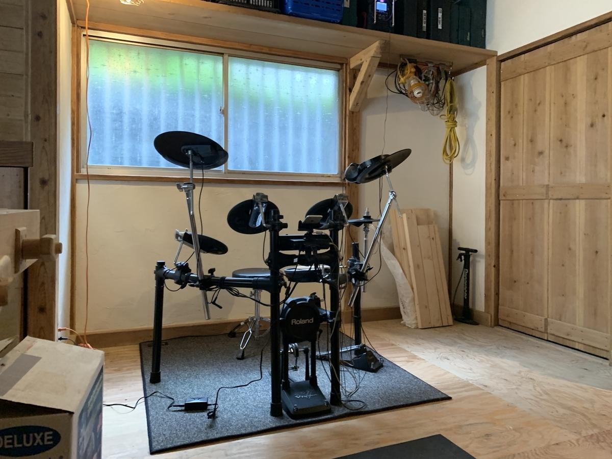 ローランドの電子ドラムセット