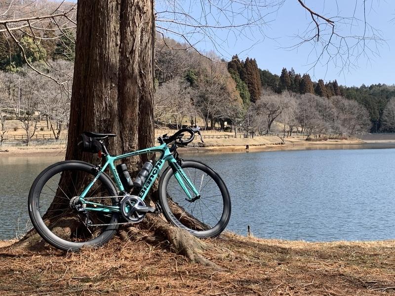 #宇都宮市森林公園 #ロードバイク #bianchi #intenso