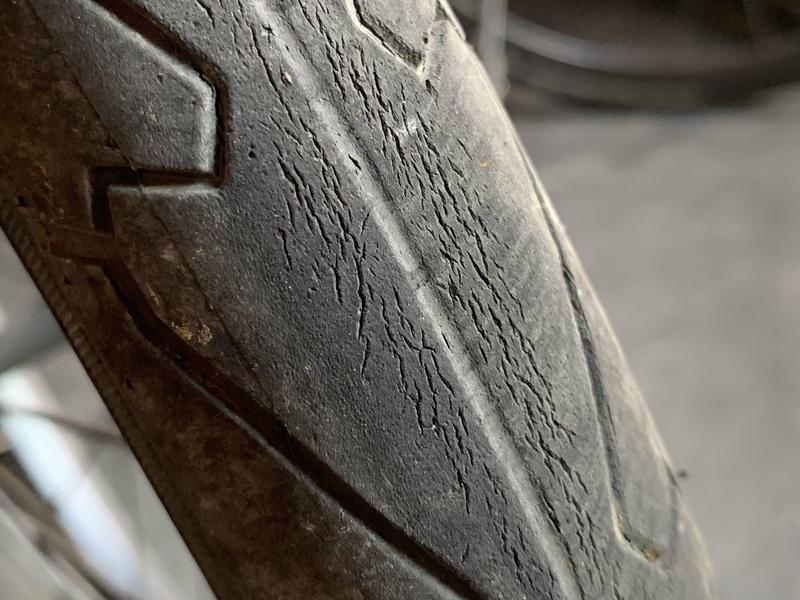 SHINKO(シンコー) 自転車 スリックタイヤ 20インチ1.75を三年履いたら