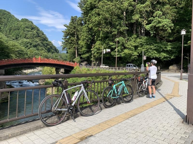 110km日光国立公園周遊ライドは獲得標高1,700m超え-映えスポット神橋