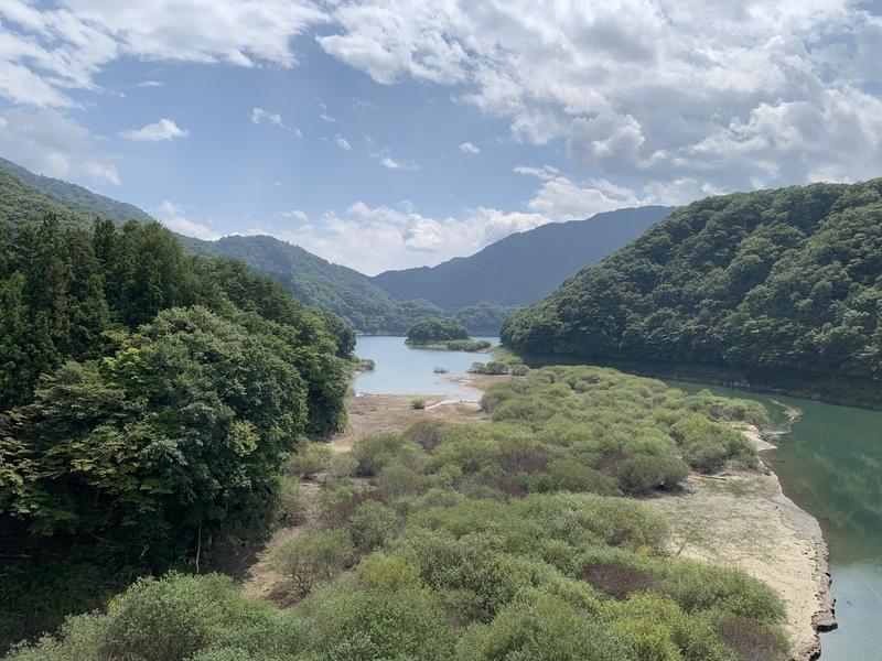 ひっそりと栃木の有名な温泉郷を巡るだけのライド-五十里湖