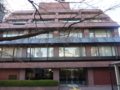 旧研修センター。今は龍谷大学の施設。