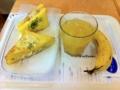 20101006の朝食。ヴィドフランス。トライアングル、クロックムッシュ、