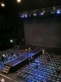 20101027の演劇。Zepp Osaka。2Fからステージを見る。