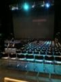 20101027の演劇。Zepp Osaka。ステージを見る。