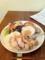 20101121の夕食。トアル食堂。海南チキンライス。