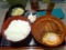 20101123の夕食。祭太鼓。デミカツ丼定食。