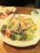 20101124の夕食。ワンサカンサ。シーザーサラダ。