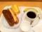 20101130の朝食。ヴィドフランス。ソーシス、クロックムッシュ、カラメ