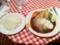 20101202の夕食。ネスパ。ハンバーグ250g。