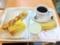 20101202の朝食。ヴィドフランス。ウィンナートルティーヤ、クロックム