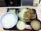 20110103の食事。吉野屋。豚生姜焼き定食。