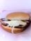 20110123の食事。モスバーガー。とびきりチーズ。