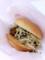 20110123の食事。モスバーガー。イベリコ豚メンチカツバーガー。