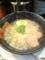 20110207の夕食。博多ちょうてん。極しお拉麺。