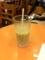 20110528の喫茶。難波ドトール。アイスハニーラテ。