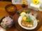 20110529の食事。トアル食堂。豚肉の白ワイン煮。