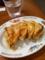 20110530の夕食。徳島ラーメン東大。餃子。