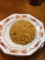 20110530の夕食。徳島ラーメン東大。炒飯。