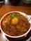 20110530の夕食。徳島ラーメン東大。味玉肉入徳島ラーメン。