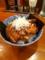 20110614の夕食。横浜クジラ軒。くじら飯。