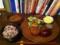 20110615の夕食。トアル食堂。メンチカツ。