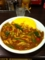 20110617の夕食。CoCo壱番屋。チキンと野菜、オムレツ、チーズ、トッピン