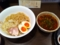 20110622の夕食。麺屋黒船。辛味噌つけ麺。